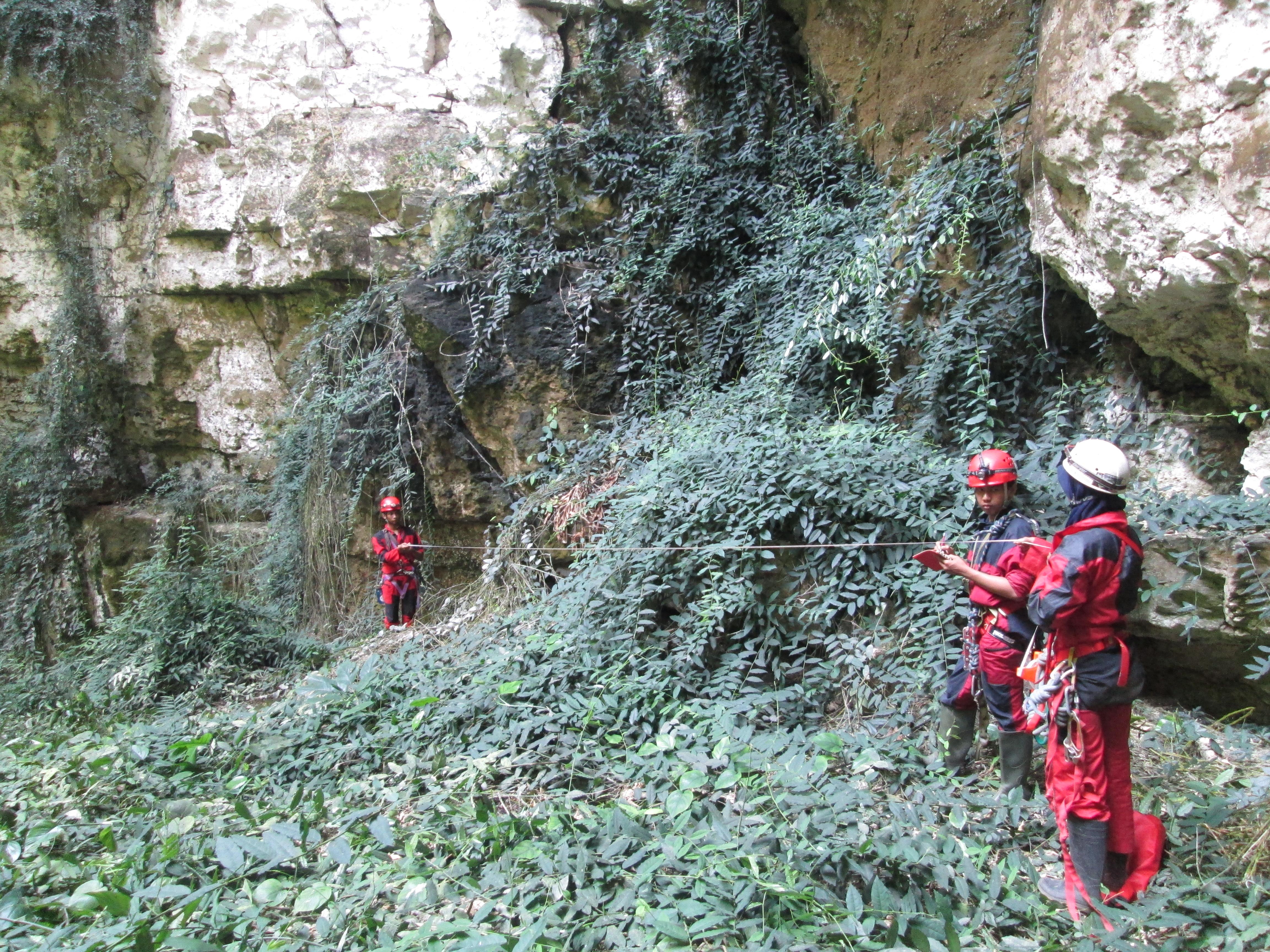 Pengambilan data Pemetaan gua